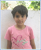 girl at Lazarus Home
